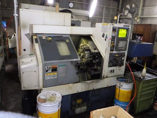 "Mori Seiki"" Cnc Lathe Model: CL-20A Year 1996 Control  MSC-518 (Fanuc 18T) With Tail Stock And Chip Conveyor https://youtu.be/2zU9W5UlmGU ราคาถึง..."