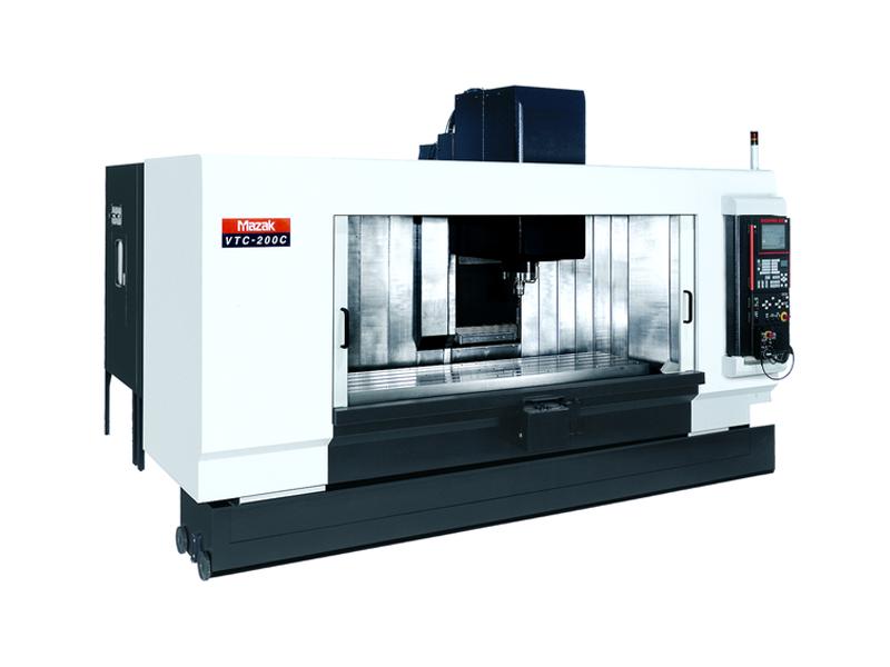รีวิวเครื่อง machining centers MAZAK รุ่น VTC-200 C II