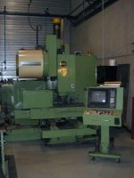 Machining Center Hitachi seiki VA45 ll Control Fanuc 10M Table 1200x500 BT50