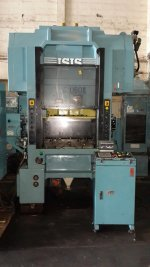 used press machine isis japan