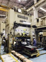 AIR PRESS For sale SHINOHARA 500T
