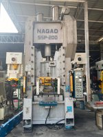 forging press. NAGAO SSP-200