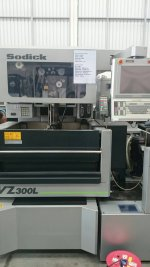 SODICK Wire cutting VZ300l