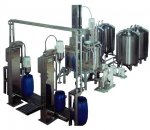 GUM / THICKENER PREPARATION, STORAGE AND DISPENSING EQUIPMENT