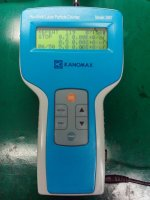 KANOMAX 3887 HANDHELD PARTICLE COUNTER