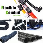 Flexible conduit, PA, PE, PP
