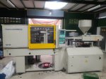 ขาย injection machine 100t.  110,000 baht.