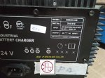 INDUSTRIAL BATTERY CHARGER  model : HB600-24B