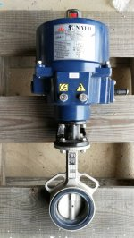 Motorized Butterfly Valve SS316 ขนาด 2 1/2""
